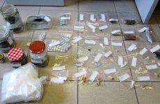 Σύλληψη τεσσάρων ατόμων στη Λάρισα με ναρκωτικά