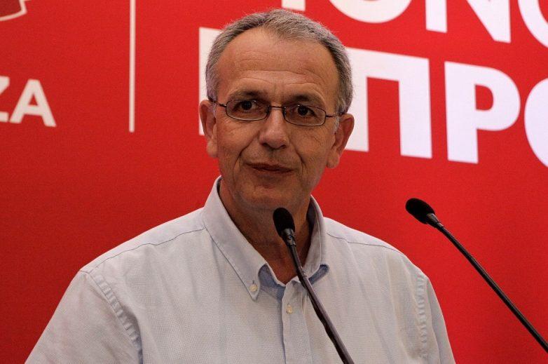 Στον Βόλο ο γραμματέας της ΚΕ του ΣΥΡΙΖΑ Παναγιώτης Ρήγας