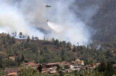 Δύο δασοπυροσβέστες νεκροί στη μάχη με τις φλόγες στην Κύπρο