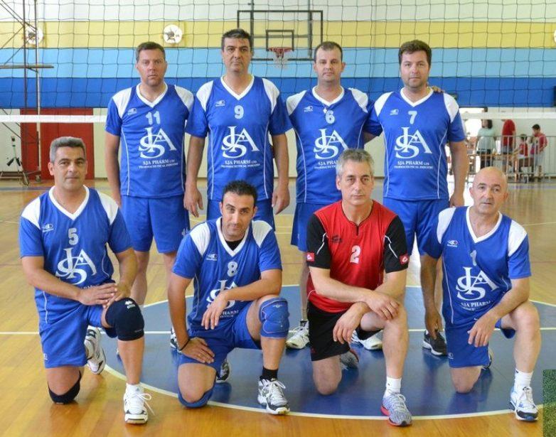 Η ομάδα του Βόλου στο 12ο Πανελλήνιο Πρωτάθλημα   βόλεϊ βετεράνων