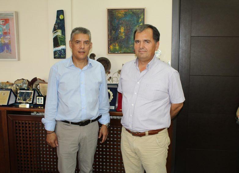 Συνάντηση περιφερειάρχη Θεσσαλίας με τον νέο διοικητή νοσοκομείων Λάρισας