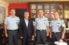 Συνάντηση περιφερειάρχη Θεσσαλίας με γενικό αστυνομικό διευθυντή Θεσσαλίας