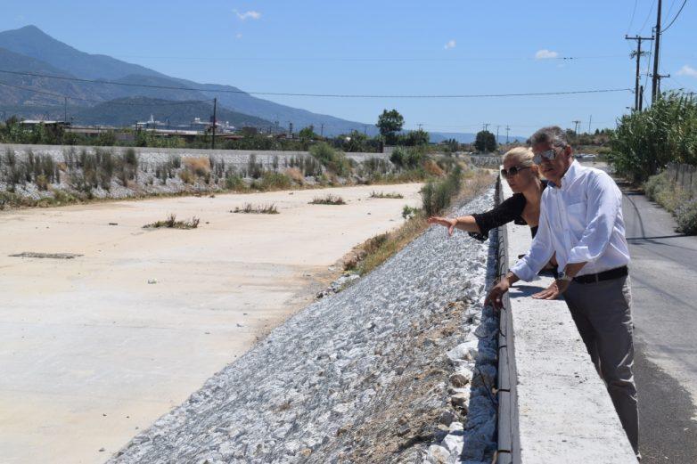 Ολοκληρώθηκαν από την Περιφέρεια Θεσσαλίας τα αντιπλημμυρικά έργα στον Ξηριά