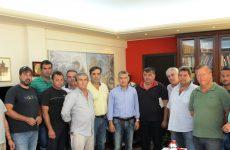 Συνάντηση περιφερειάρχη με παραγωγούς παρακάρλιων περιοχών