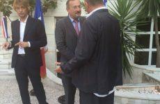 Στη δεξίωση της Γαλλικής πρεσβείας ο Αχ. Μπέος