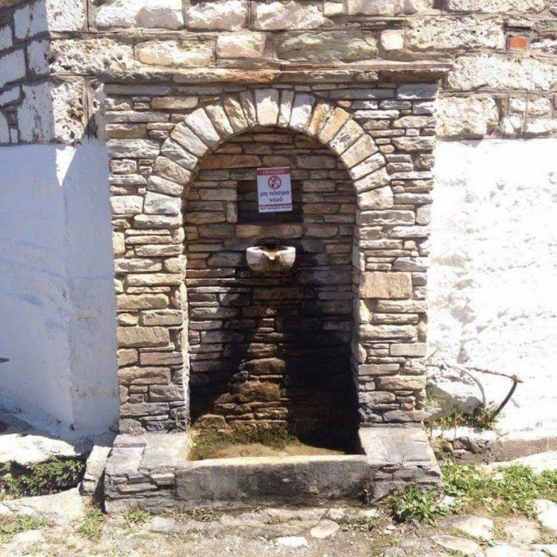 Αγανακτισμένοι οι κάτοικοι της Πορταριάς για τις κοινόχρηστες βρύσες