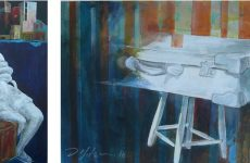 Έκθεση Δημήτρη Μητσανά στο Κέντρο Τέχνης Ντε Κίρικο