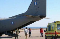 Αεροδιακομιδή τραυματία από τροχαίο στη Σκιάθο