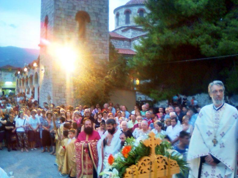Η μνήμη του Αγίου Παντελεήμονος σε Βόλο και Αγιά
