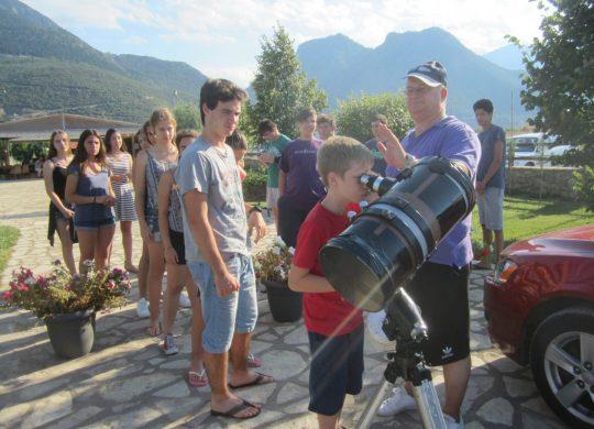 Πανελλήνιος Διαγωνισμός Αστρονομίας για μαθητές Δημοτικού  στο Βόλο