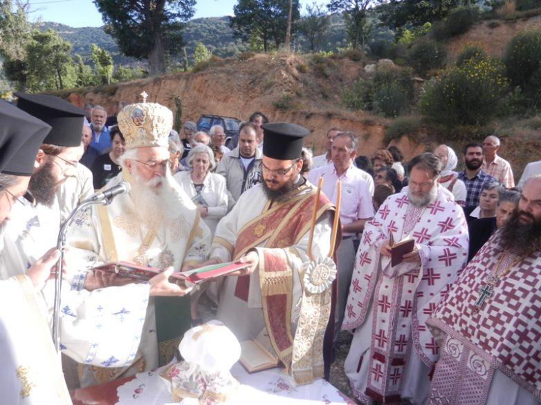 Εγκαινιάστηκε το Καθολικό της Ι. Μονής Οσίου Σεραφείμ του Σάρωφ Πορταριάς
