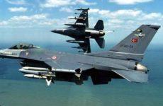 Δύο F-16 προς κατάρριψη Ερντογάν