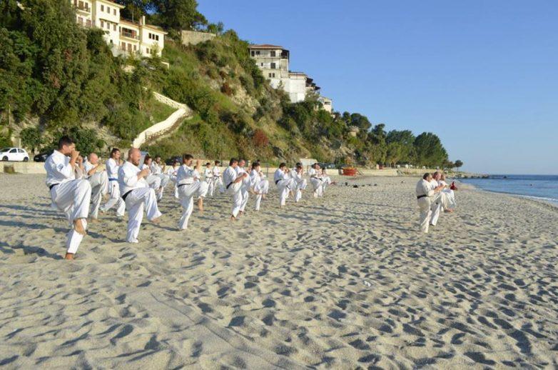 Oλοκληρώθηκε το 19ο Ελληνικό SUMMER CAMP της Ένωσης Shinkyokushinkai ΚΑΡΑΤΕ