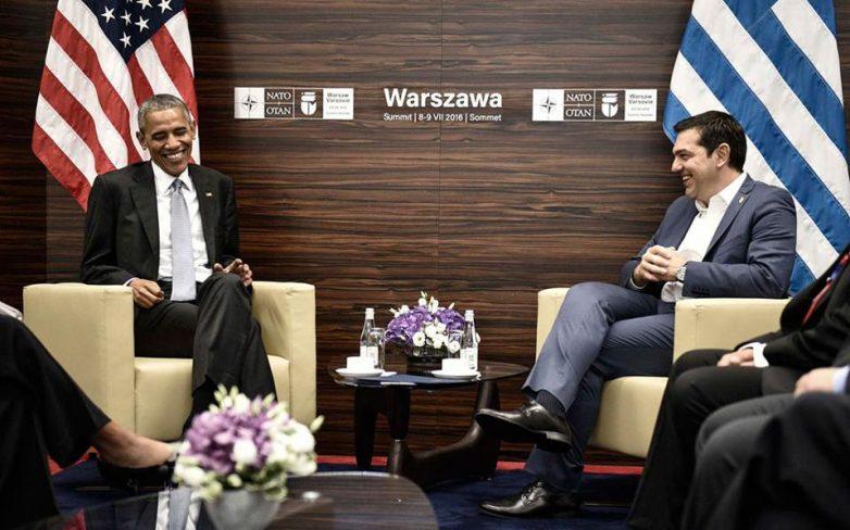 Οικονομία, προσφυγικό και Κύπρος στη συνάντηση Ομπάμα – Τσίπρα