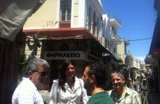 Στη Μυτιλήνη η Ζωή Κωνσταντοπούλου