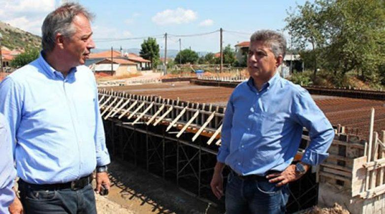 Στην αποκατάσταση του δικτύου αποχέτευσης όμβριων της σήραγγας της Μεσοχώρας προχωρά η Περιφέρεια Θεσσαλίας