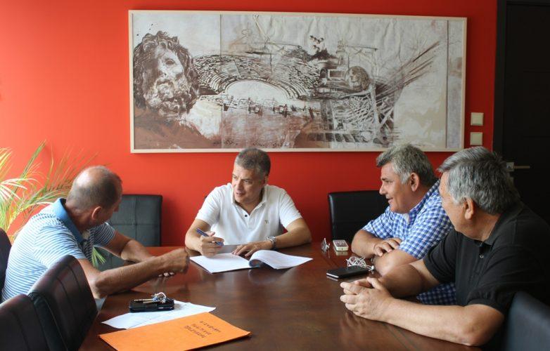 Αντιδιαβρωτικά αντιπλημμυρικά έργα στους χειμάρρους της Π.Ε. Λάρισας