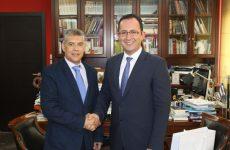 Συνάντηση περιφερειάρχη Θεσσαλίας με τον πρόξενο της Τουρκίας