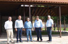 Πέντε έργα στην Καλαμπάκα επισκέφτηκε ο περιφερειάρχης Θεσσαλίας