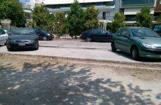 Τροχαίο με υλικές ζημιές στη συμβολή των οδών Δημητριάδος-Δεληγιώργη