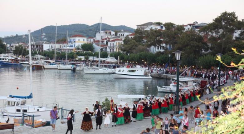 Εκδηλώσεις πολιτισμού σε Αγ. Γεώργιο Νηλείας και Σκόπελο