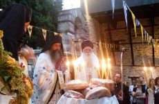 Λαμπρή πανήγυρις στη Μονή του Αγίου Λαυρεντίου