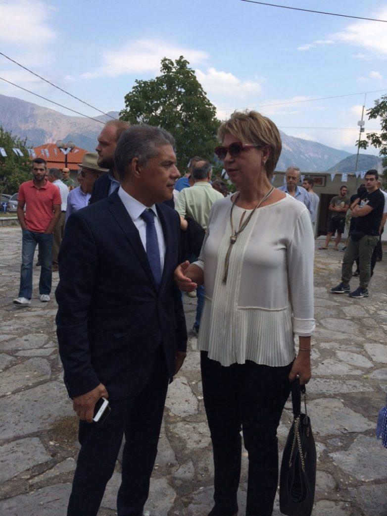 Δέσμευση της κυβέρνησης για ολοκλήρωση των έργων στη Μεσοχώρα