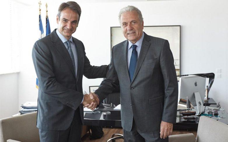 Επίσκεψη επιτρόπου της ΕΕ Δημήτρη Αβραμόπουλου στην Αθήνα