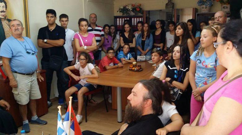 Στον Δήμο Ρ. Φεραίου η Παιδική Χορωδία  Ι.Ν. Αγ. Βησσαρίωνα Φιλιππιάδας