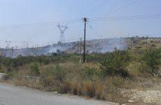 Φωτιά σε ξερά χόρτα στον Σαμπάναγα