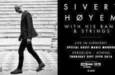Ανάρπαστα τα εισιτήρια για την συναυλία του Sivert Hoyem