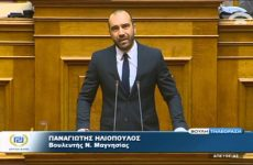 Π. Ηλιόπουλος:»Oμηρία» δεκάδων επιχειρηματιών εστίασης του Βόλου