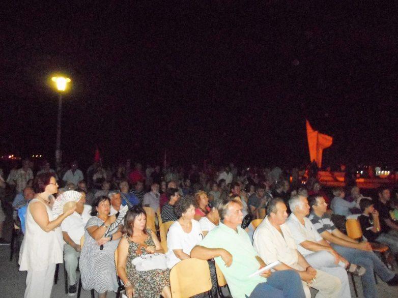 Πραγματοποιήθηκε η προφεστιβαλική εκδήλωση των οργανώσεων της ΚΝΕ