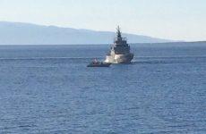 Ακυβέρνητο σκάφος  στην Αλόννησο