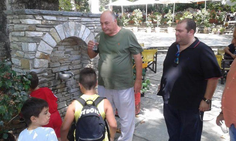 Επίσκεψη Αχ. Μπέου στην Πορταριά