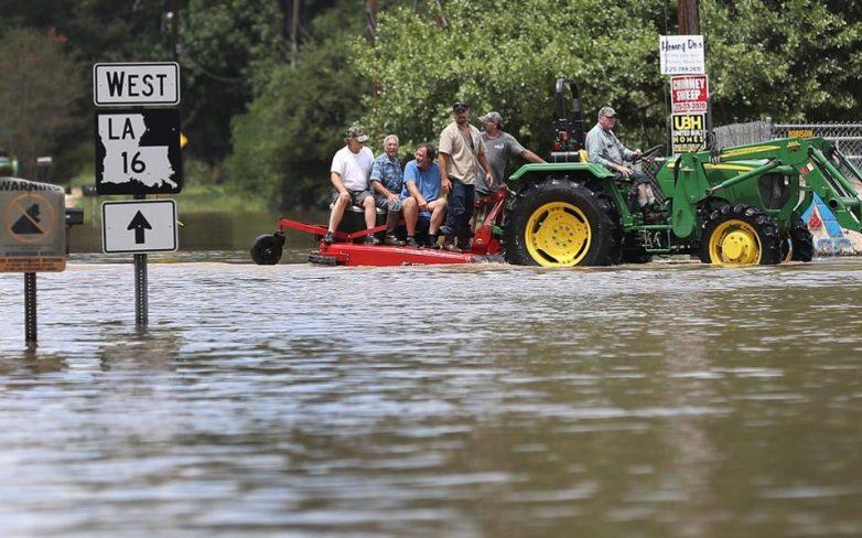 ΗΠΑ: Τουλάχιστον επτά νεκροί από τις πλημμύρες στη Λουιζιάνα