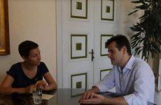 Επίσκεψη Ska Keller στην Χίο για το προσφυγικό