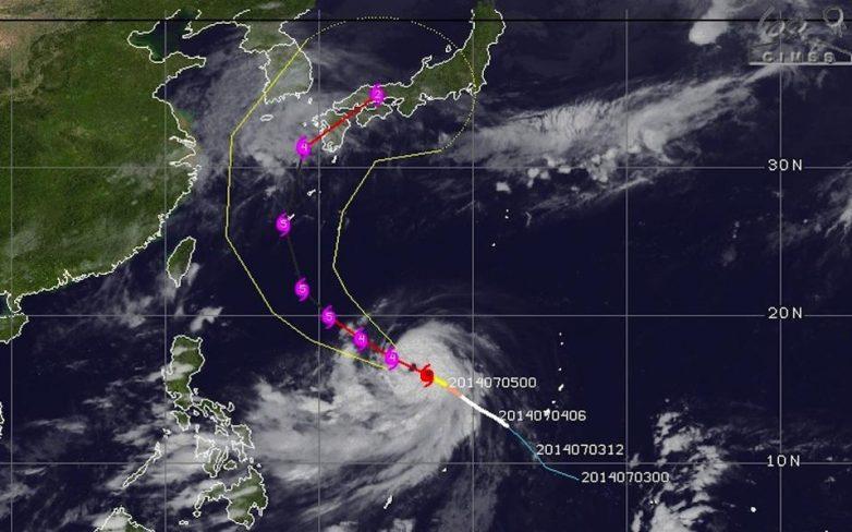Συναγερμός στο Τόκιο, απειλείται από ισχυρό τυφώνα