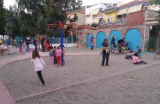 Με παιδικές φωνές γέμισε η νέα Παιδική Χαρά στην Αγριά