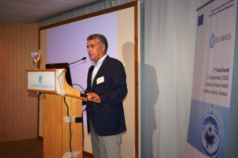 Σε διημερίδα στη Σκιάθο ο περιφερειάρχης Θεσσαλίας για την αποδοτική χρήση του νερού
