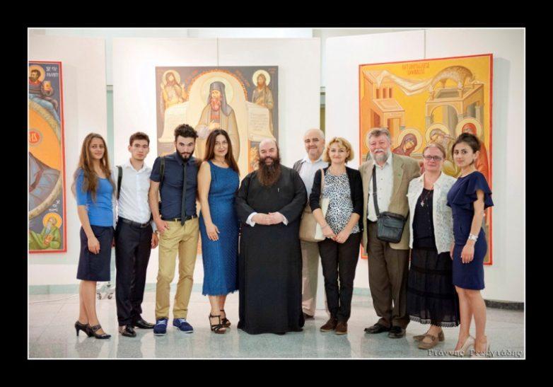 Έκθεση αγιογραφίας , βυζαντινής ζωγραφικής,  Θρησκευτικής τέχνης  και μοναστηριακής διατροφής  «Χρώμα και γεύση»