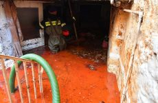 Ζημιές σε ημιυπόγειο από σπασμένο σωλήνα ύδρευσης
