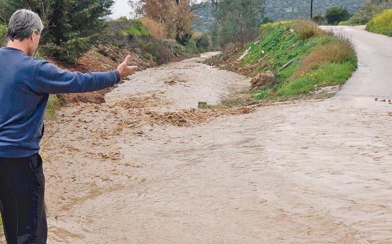 Μία νεκρή από τις βροχοπτώσεις στην Πελοπόννησο