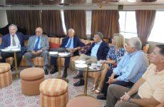 Συνάντηση φορέων για την ανάπτυξη της κρουαζιέρας στο λιμάνι του Βόλου