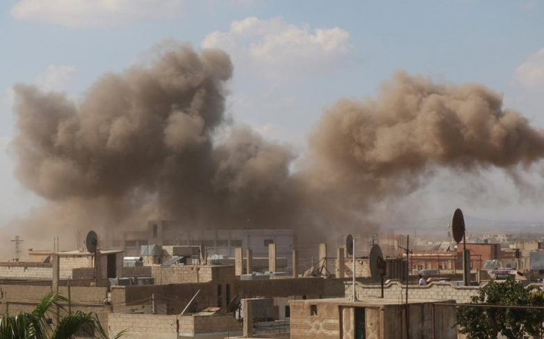 Το ΙΚ πίσω από τις έξι πολύνεκρες βομβιστικές επιθέσεις στη Συρία