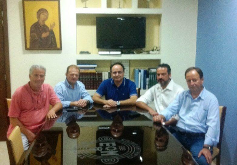 Επίσκεψη της ΝΟΔΕ Μαγνησίας στο Επιμελητήριο