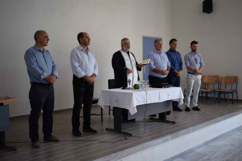 Αγιασμός στα σχολεία του Δήμου Ρήγα Φεραίου