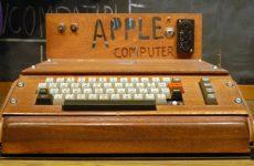 Ο πρώτος Apple δημοπρατήθηκε προς 727.000 ευρώ