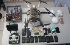 Απόπειρα εισαγωγής ναρκωτικών ουσιών και κινητών στις Φυλακές Λάρισας με drone