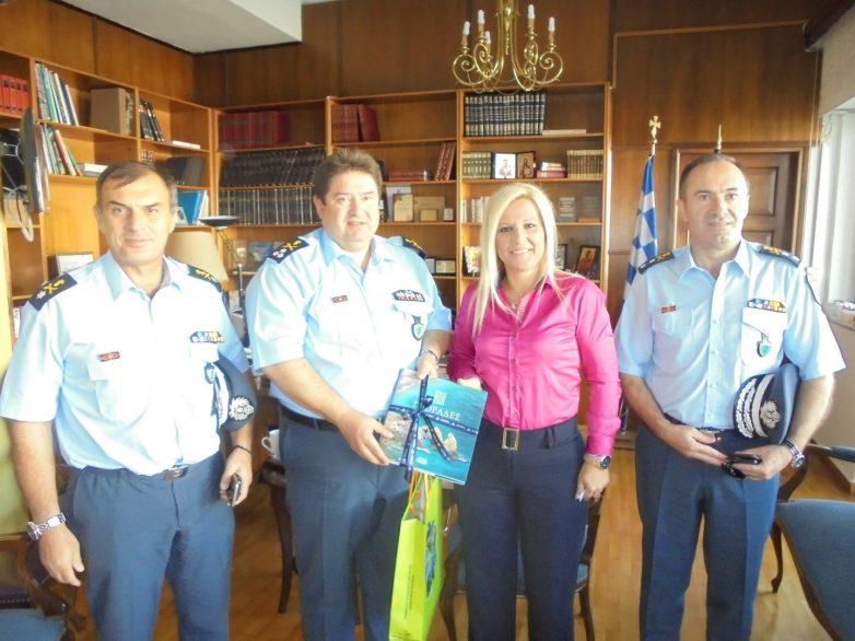 Συνάντηση Γενικού Επιθεωρητή Αστυνομίας Βορείου Ελλάδος -αντιπεριφερειάρχη Μαγνησίας και Σποράδων